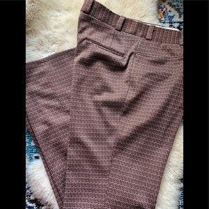 Vintage 70's leisure poly disco pants costume